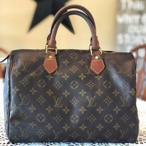 Authentic Louis Vuitton Speedy 30 (VI 0962)